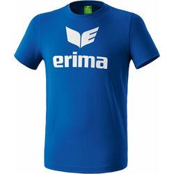 Erima Promo T-Shirt Heren - Royal / Wit