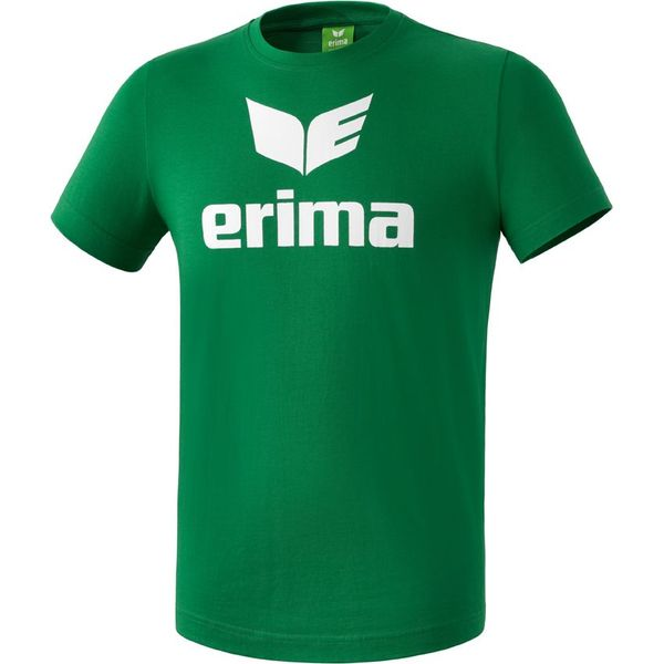 Erima Promo T-Shirt Kinderen - Smaragd / Wit