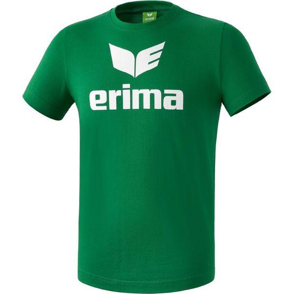 Erima Promo T-Shirt - Smaragd / Wit