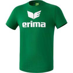 Erima Promo T-Shirt Heren - Smaragd / Wit