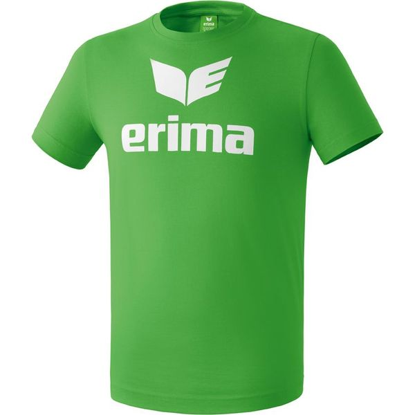 Erima Promo T-Shirt Heren - Green / Wit