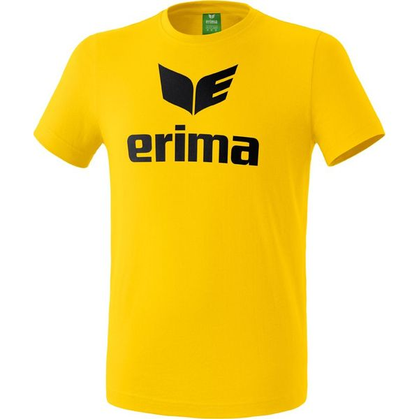 Erima Promo T-Shirt Kinderen - Geel / Zwart