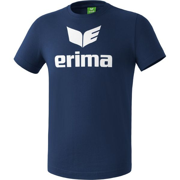 Erima Promo T-Shirt Kinderen - New Navy / Wit