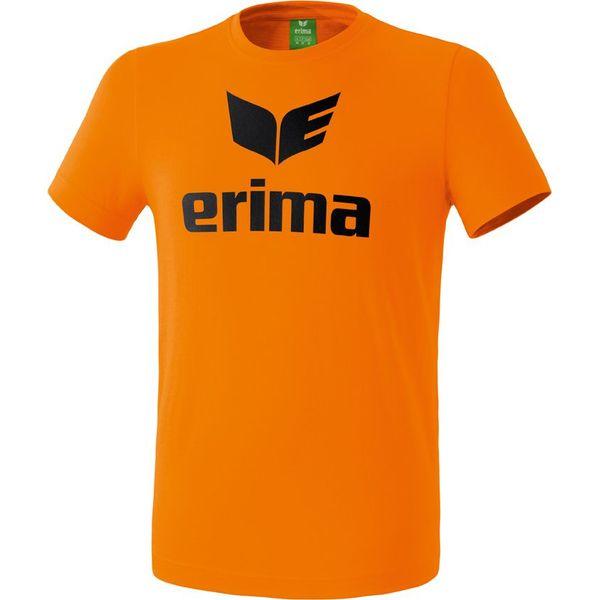 Erima Promo T-Shirt Heren - Oranje / Zwart