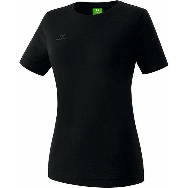 Erima Teamsport T-Shirt Dames - Zwart
