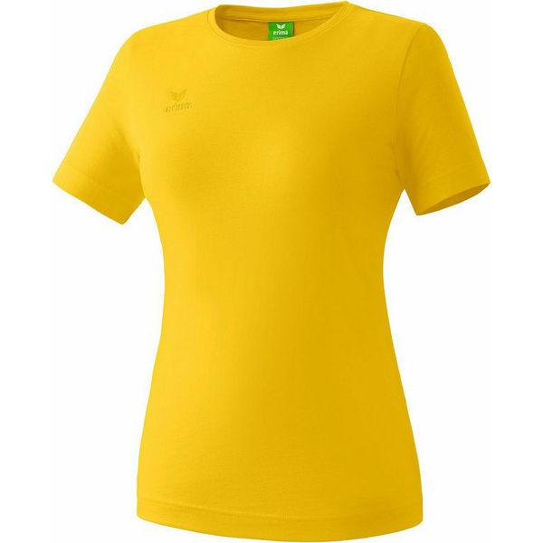 Erima Teamsport T-Shirt Dames - Geel