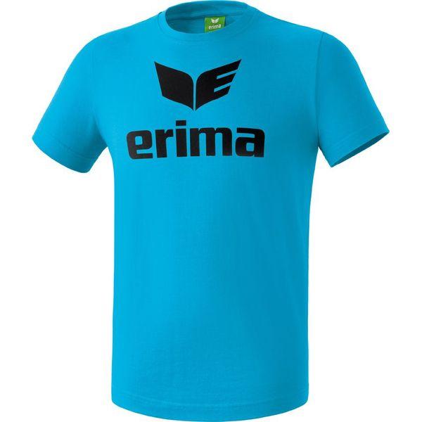Erima Promo T-Shirt Heren - Curaçao / Zwart