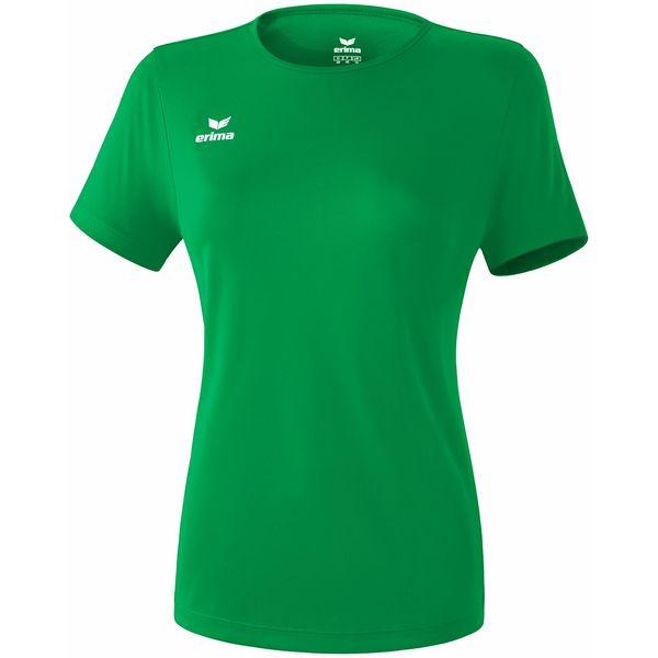 Erima Teamsport Functioneel T-Shirt Dames - Smaragd/Green