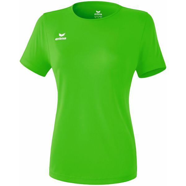 Erima Teamsport Functioneel T-Shirt Dames - Green