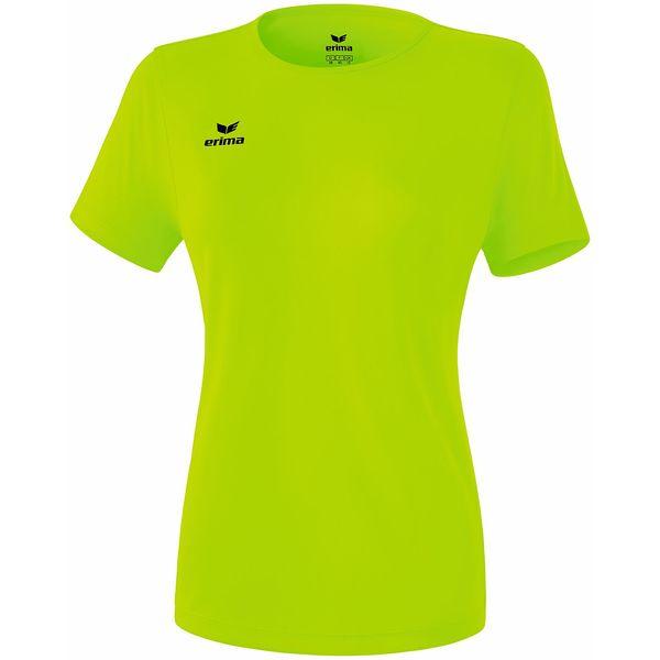 Erima Teamsport Functioneel T-Shirt Dames - Green Gecko