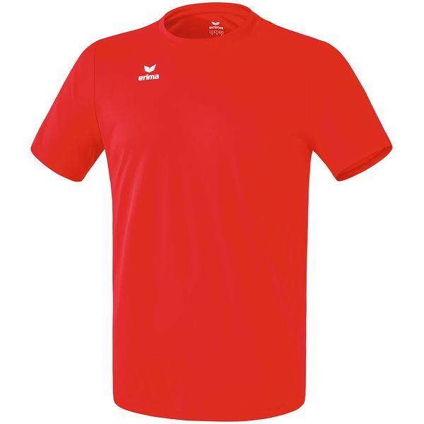 Erima Teamsport Functioneel T-Shirt Kinderen - Rood