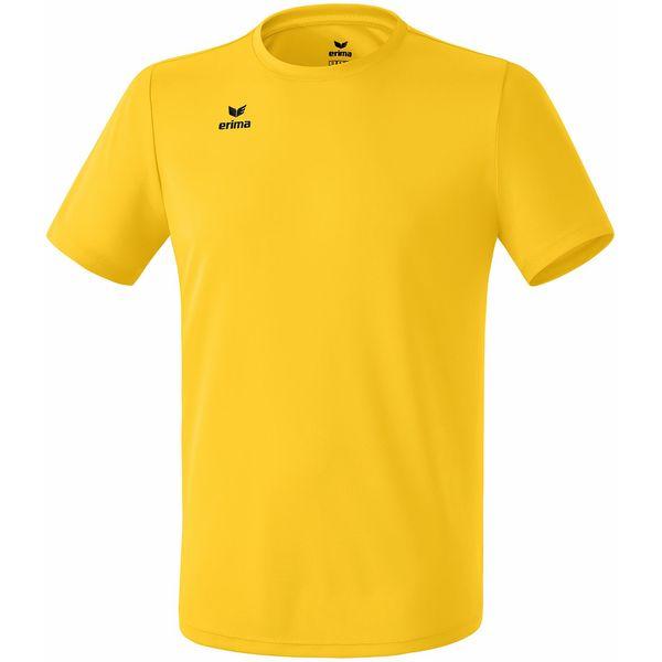 Erima Teamsport Functioneel T-Shirt Heren - Geel