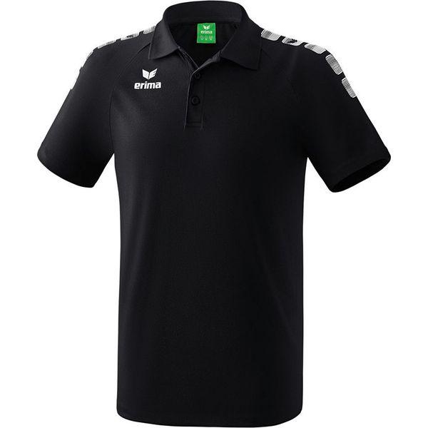 Erima Essential 5-C Polo - Zwart / Wit