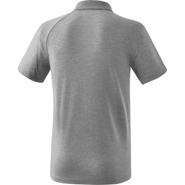 Erima Essential 5-C Polo Heren - Grey Melange / Zwart