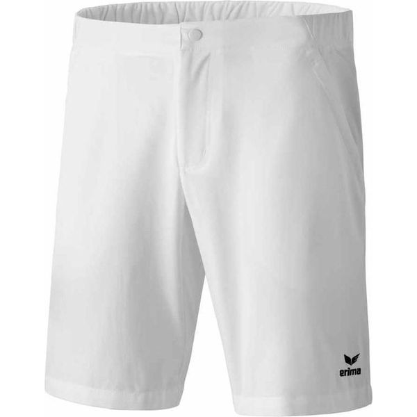 Erima Short De Tennis Enfants - Blanc