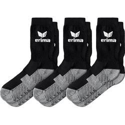 Erima Lot De 3 Paires De Chaussettes De Sport - Noir