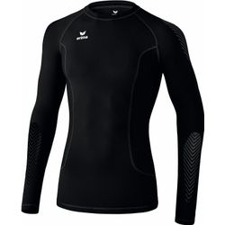Erima Elemental Longsleeve Shirt Lange Mouw - Zwart