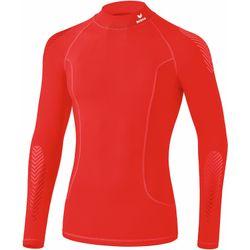 Erima Elemental Longsleeve Shirt Opstaande Kraag Kinderen - Rood