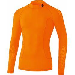 Erima Elemental Longsleeve Shirt Opstaande Kraag Kinderen - Oranje