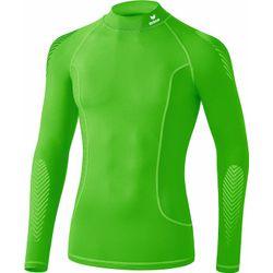 Erima Elemental Longsleeve Shirt Opstaande Kraag Kinderen - Green