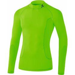 Erima Elemental Longsleeve Shirt Opstaande Kraag Kinderen - Green Gecko