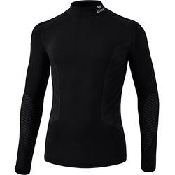 Erima Athletic Shirt Opstaande Kraag Kinderen - Zwart