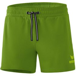Erima Essential Sweatshort Dames - Twist Of Lime / Lime Pop