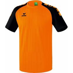 Erima Tanaro 2.0 Shirt Korte Mouw Heren - Oranje / Zwart