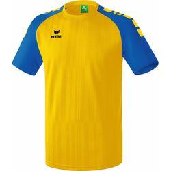 Erima Tanaro 2.0 Shirt Korte Mouw Heren - Geel / New Royal