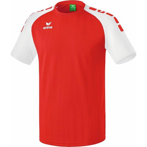 Erima Tanaro 2.0 Shirt Korte Mouw Kinderen - Rood / Wit