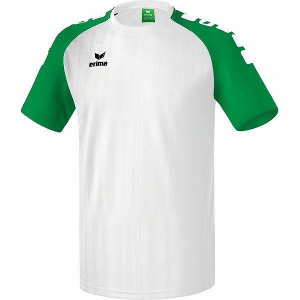 Erima Tanaro 2.0 Shirt Korte Mouw Kinderen - Wit / Smaragd