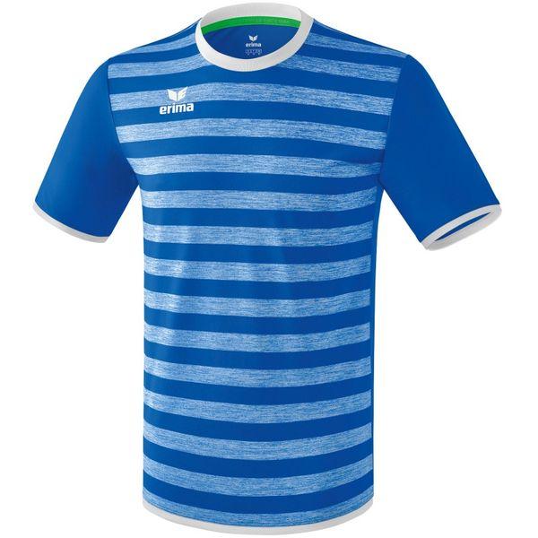 Erima Barcelona Shirt Korte Mouw Kinderen - New Royal / Wit