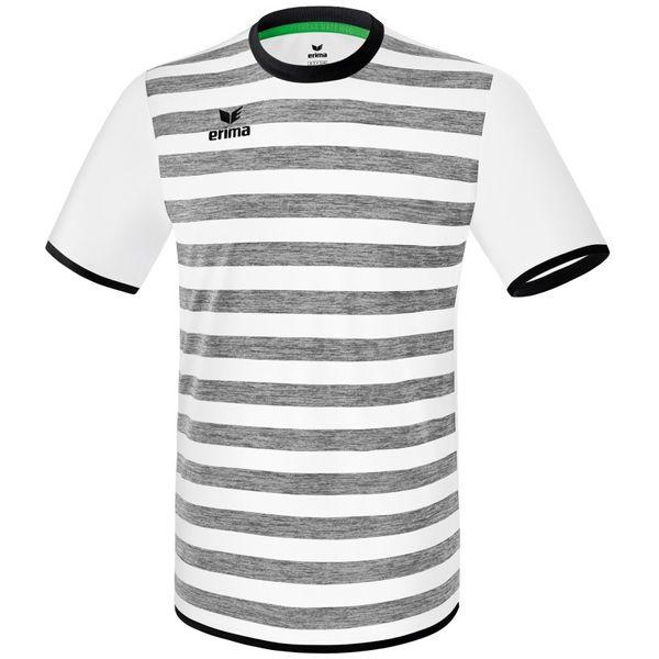 Erima Barcelona Shirt Korte Mouw Kinderen - Wit / Zwart