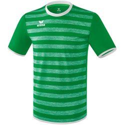 Erima Barcelona Shirt Korte Mouw Kinderen - Smaragd / Wit