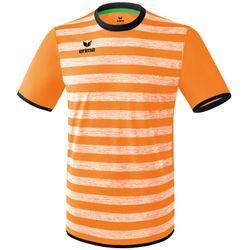 Erima Barcelona Shirt Korte Mouw Heren - Neon Oranje / Zwart