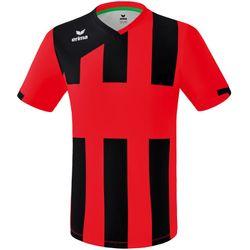Erima Siena 3.0 Shirt Korte Mouw - Rood / Zwart