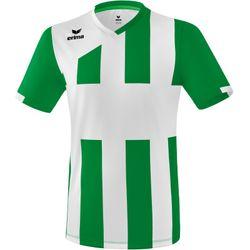 Erima Siena 3.0 Shirt Korte Mouw Heren - Smaragd / Wit