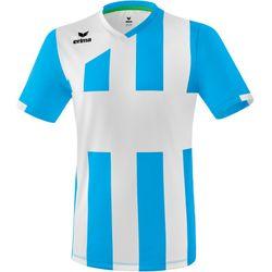 Erima Siena 3.0 Shirt Korte Mouw - Curaçao / Wit