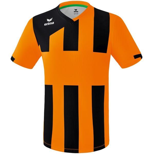 Erima Siena 3.0 Shirt Korte Mouw Heren - Oranje / Zwart