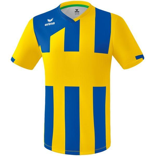 Erima Siena 3.0 Shirt Korte Mouw - Geel / New Royal
