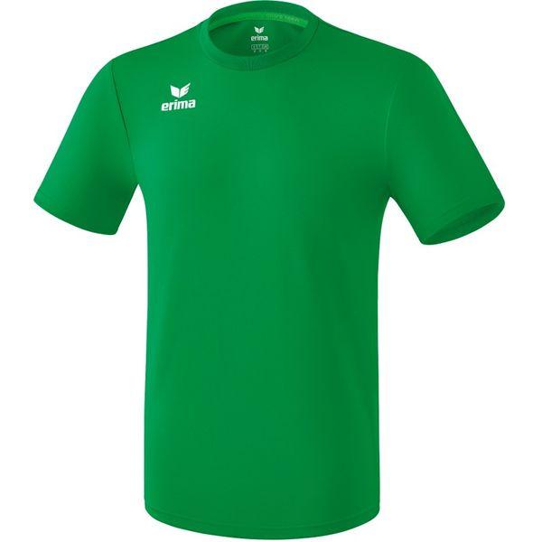 Erima Liga Shirt Korte Mouw Kinderen - Smaragd