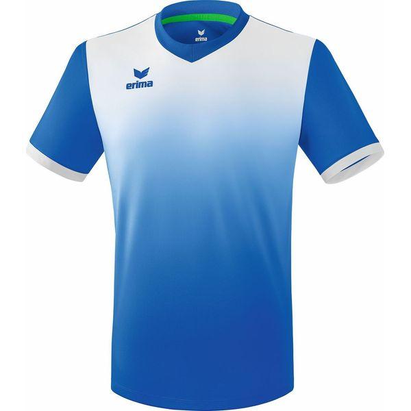 Erima Leeds Shirt Korte Mouw Kinderen - New Royal / Wit