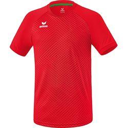 Erima Madrid Shirt Korte Mouw Kinderen - Rood