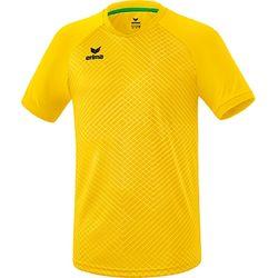 Erima Madrid Shirt Korte Mouw Kinderen - Geel