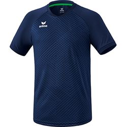 Erima Madrid Shirt Korte Mouw Heren - New Navy
