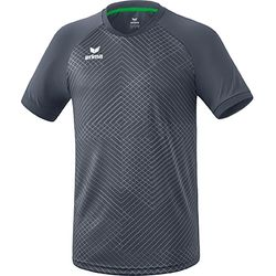Erima Madrid Shirt Korte Mouw - Slate Grey