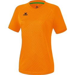 Erima Madrid Shirt Korte Mouw Dames - New Orange