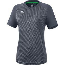 Erima Madrid Shirt Korte Mouw Dames - Slate Grey