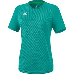 Erima Madrid Shirt Korte Mouw Dames - Columbia
