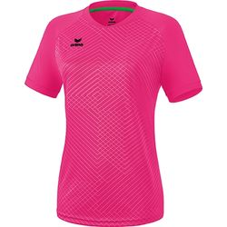 Erima Madrid Maillot Manches Courtes Femmes - Pink Glo